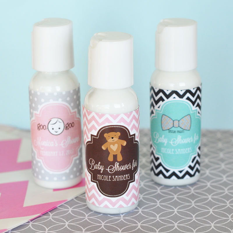 EB4010B-Personalized Baby Shower Lotion