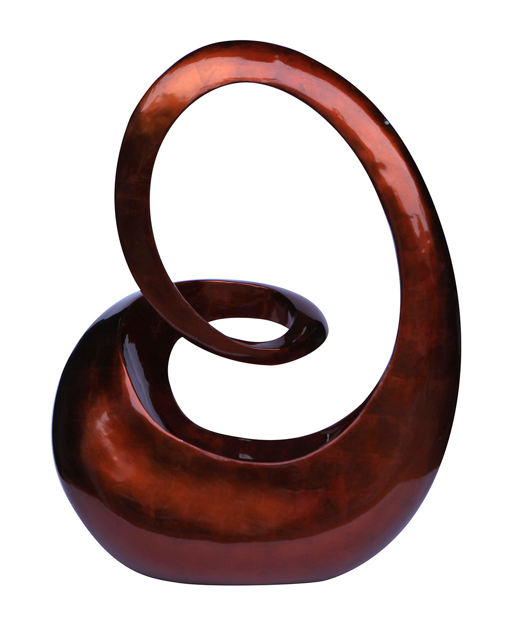 DL01-B-Talia Design 24 Inch Swirl Sculpture