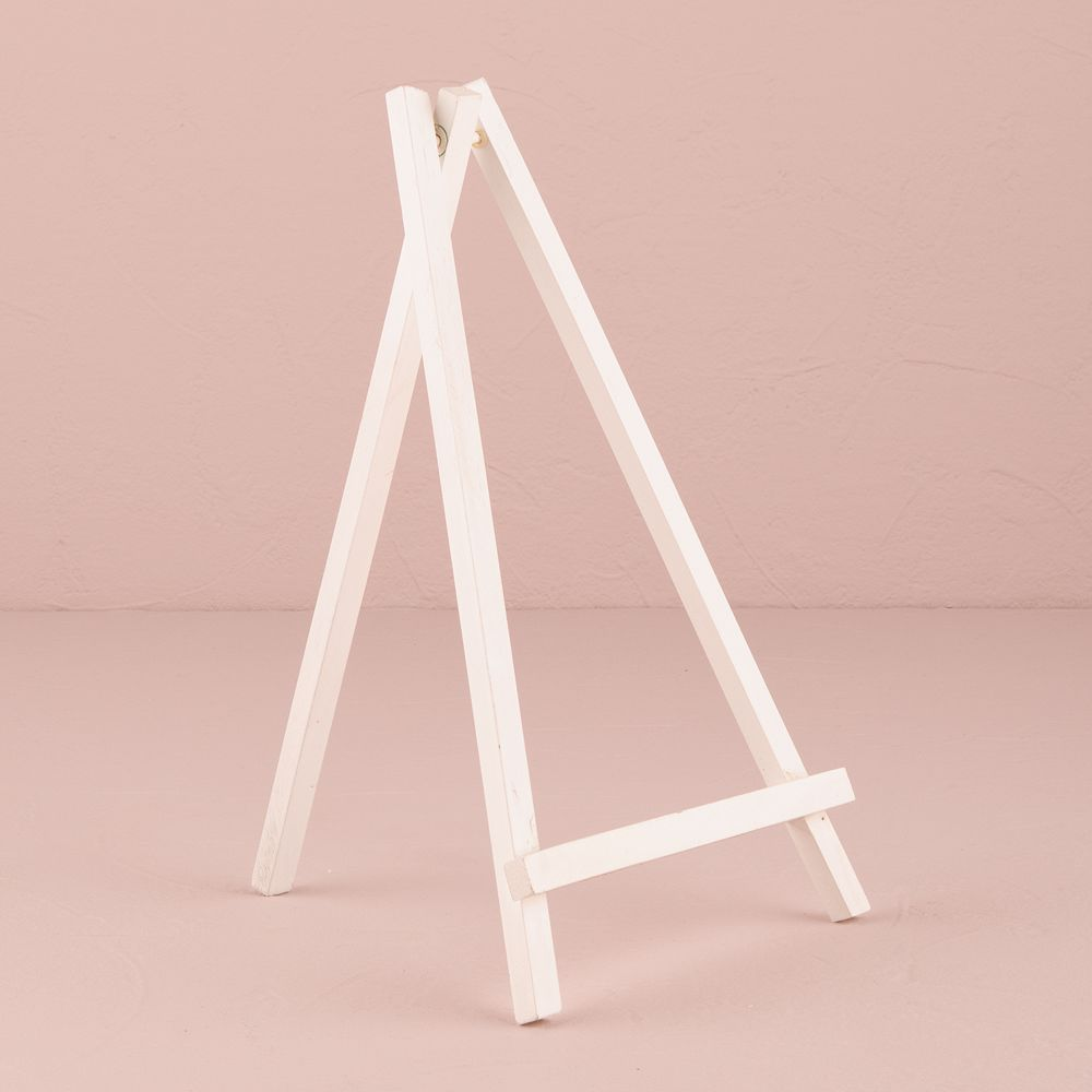 White Wooden Easels - Large White