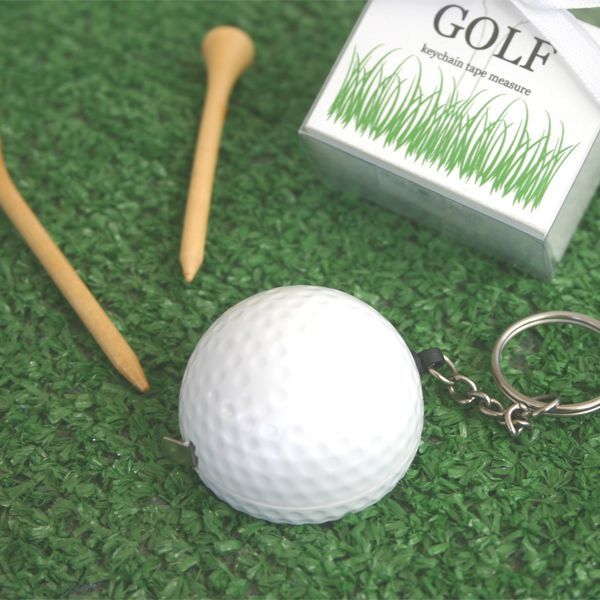 EB1079-A Leisurely Game Of Love Golf Ball Tape Measure