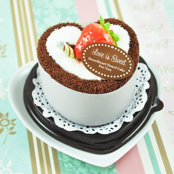 EB2072-Love Is Sweet Sweetheart Towel Cakes