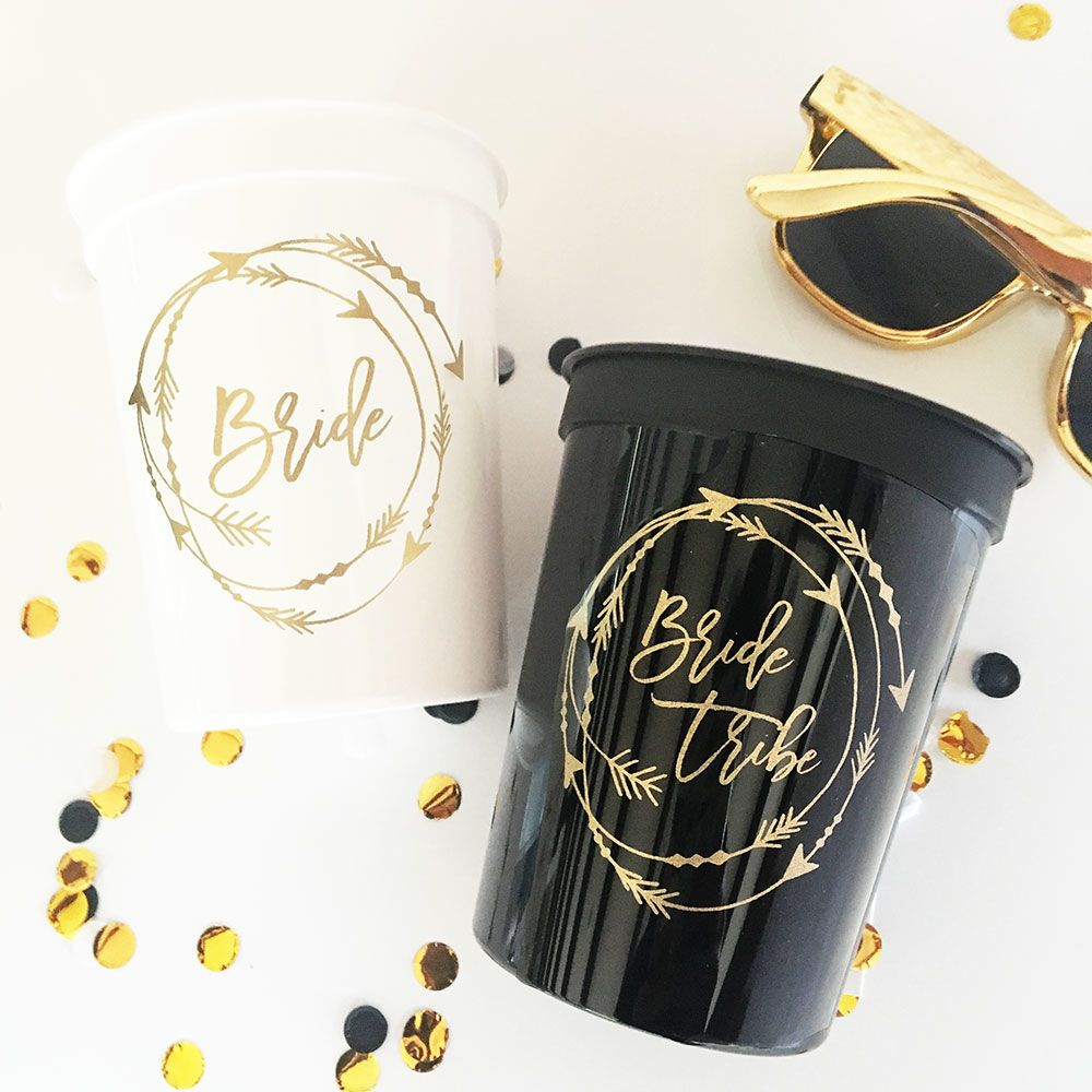 EB3197-Bride Tribe Cups Set Of 10