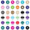 1574000--Personalized Magnets Silhouette Collection 1 Inch