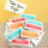 1904000--Personalized Toothpicks Silhouette Collection Set Of 50