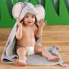 Splish Splash Elephant Bath Spa Hooded Towel---