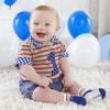 My First Birthday 3 Piece Dapper Dude Outfit--