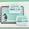 EB1049BK-Personalized Mint Tins Beach Party Black