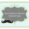 EB3003LM-Little Man Party Sign