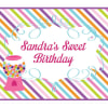 EB3003SH-Sweet Shoppe Party Sign