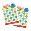 EB3021SHB-Baby Super Hero Boy Birthday Bingo Set Of 16