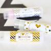 EB3031FW-Personalized Metallic Foil Lip Balm Tubes