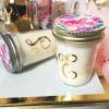 EB3178M-Monogram Mason Jar Candle