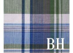 Mens Fabric Print Personalized Handkerchief