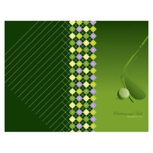 Golf Program Classical Green Gradient