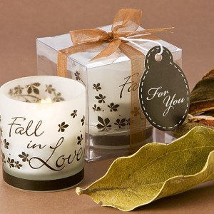 Fall In Love Tea Light Candle Holder Pack Of 4