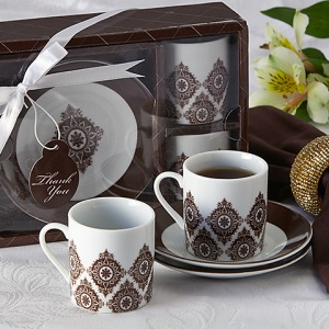 Moroccan Flair Espresso Coffee Cup Set