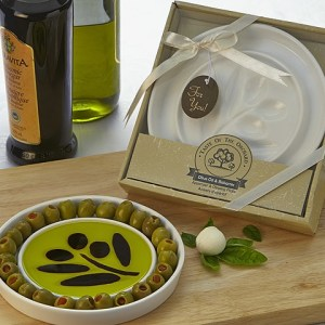 Taste Of The Orchard Oil Vinegar Dipping & Appetizer Plate