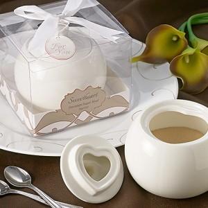 Sweetheart Porcelain Sugar Bowl Favor