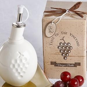 Taste Of The Vineyard Vinegar Bottle In Gift Box