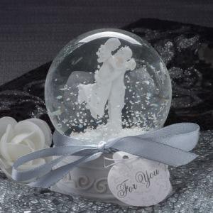 Forever In Love Couple Snow Globe Favor