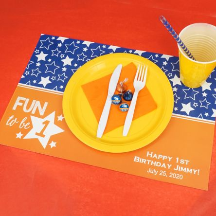 Kids Birthday Placemats