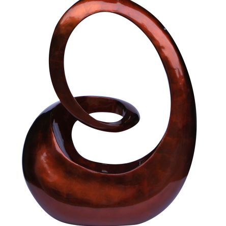 Talia Design 24 Inch Swirl Sculpture