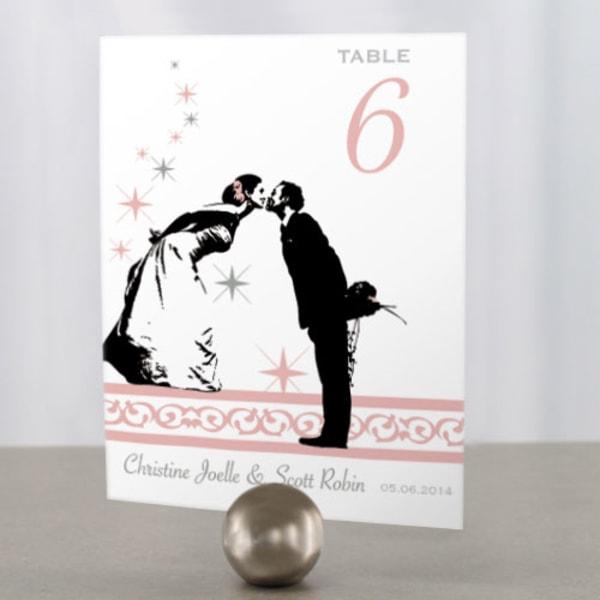 Vintage Hollywood Table Number