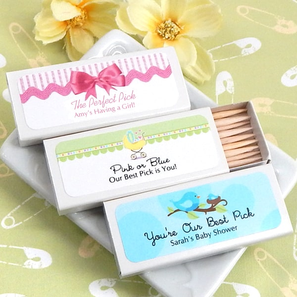 1903100--Baby Shower Personalized Toothpicks Set Of 50