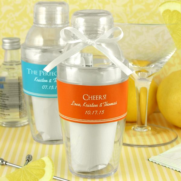 2154100--Personalized Cocktail Shaker With Lemon Drop Mix