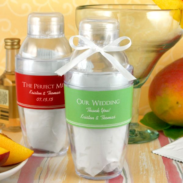 2164100--Personalized Cocktail Shaker With Mango Margarita Mix