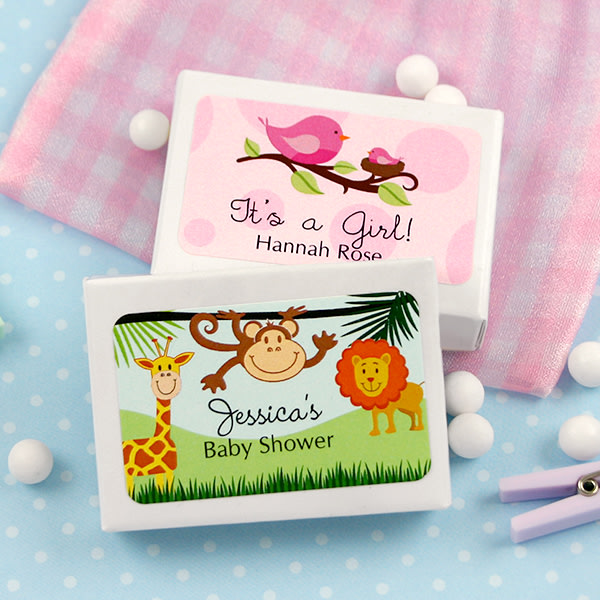 4013100--Baby Mint Box Favors