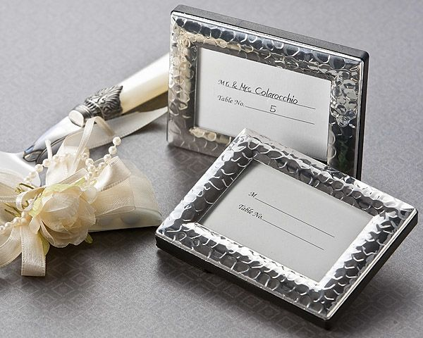 Capture Elegance Mini Photo Frame Place Card Holder