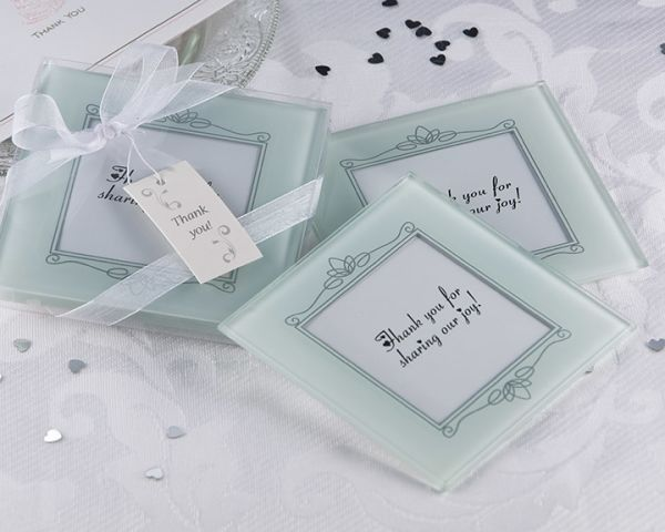 Memories Forever Frosted Glass Photo Coaster Set Of 2