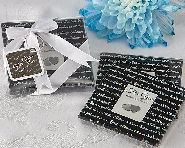 Love Is… Photo Coasters Set Of 2