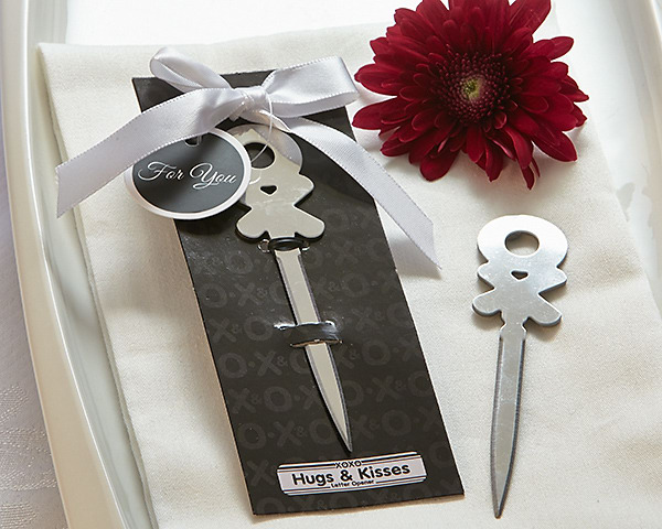 Hugs & Kisses Letter Opener