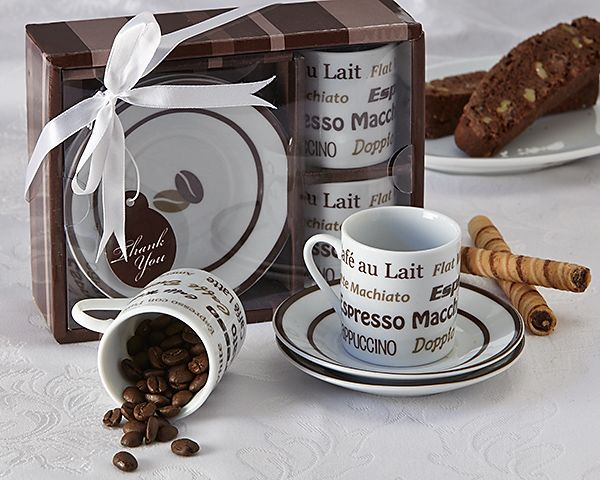 Euro Café Espresso Coffee Cup Set