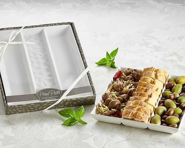 Primi Piatti Appetizer Serving Dipping Platter