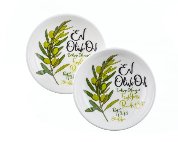 Ev Olive Oil Dipping Dishes Gift Set Of 2