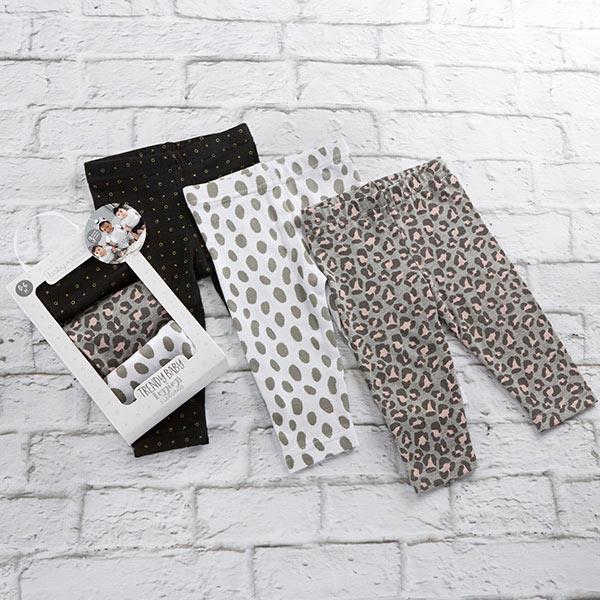 BA15184NA-Trendy Baby Leggings Set Of 3---