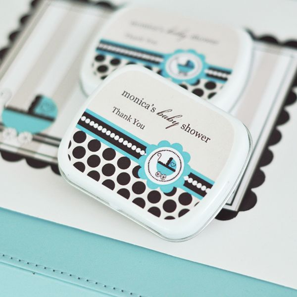 EB1063BB-Personalized Mint Tins Blue Baby
