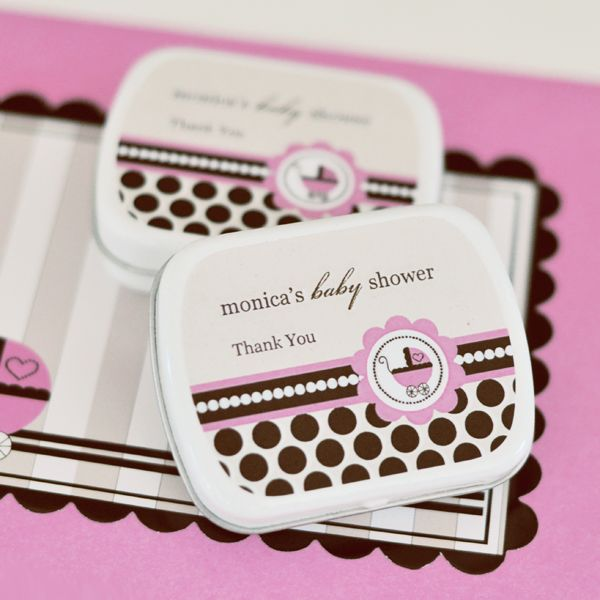 EB1063BP-Personalized Mint Tins Pink Baby