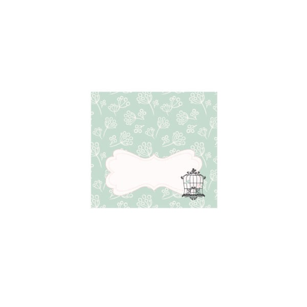 EB3006BCP-Birdcage Party Menu Cards Place Cards Set Of 6