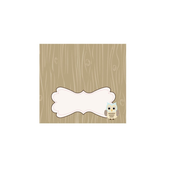 EB3006WOL-Menu Cards Place Cards Set Of 6