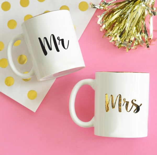 EB3141MRS-Mr & Mrs Coffee Mug