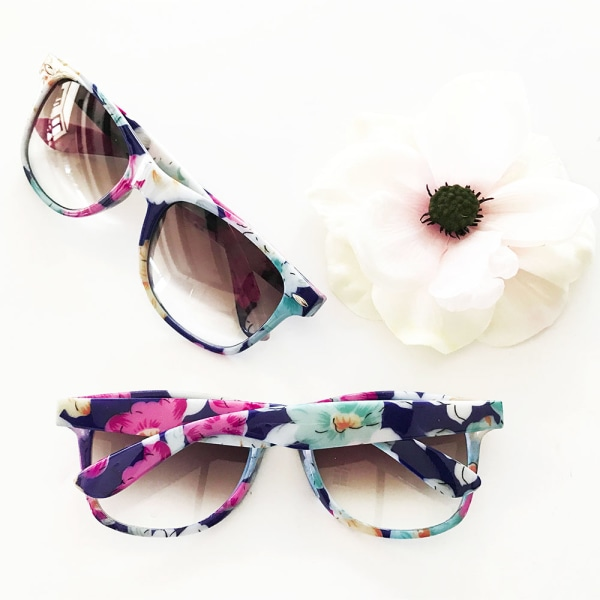 EB3203NP-Blank Floral Sunglasses