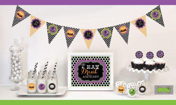 EB4000SHLWN-Spooky Halloween Decorations Starter Kit