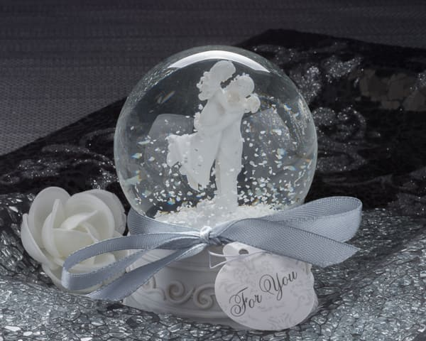 Forever In Love Couple Snow Globe Favor