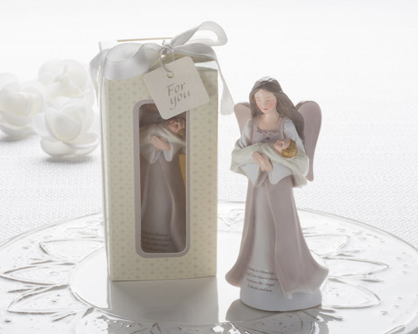 Cherished Blessings Angel & Baby Figurine