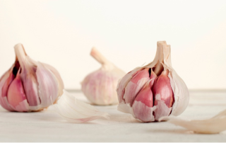 stop a cold with garlic