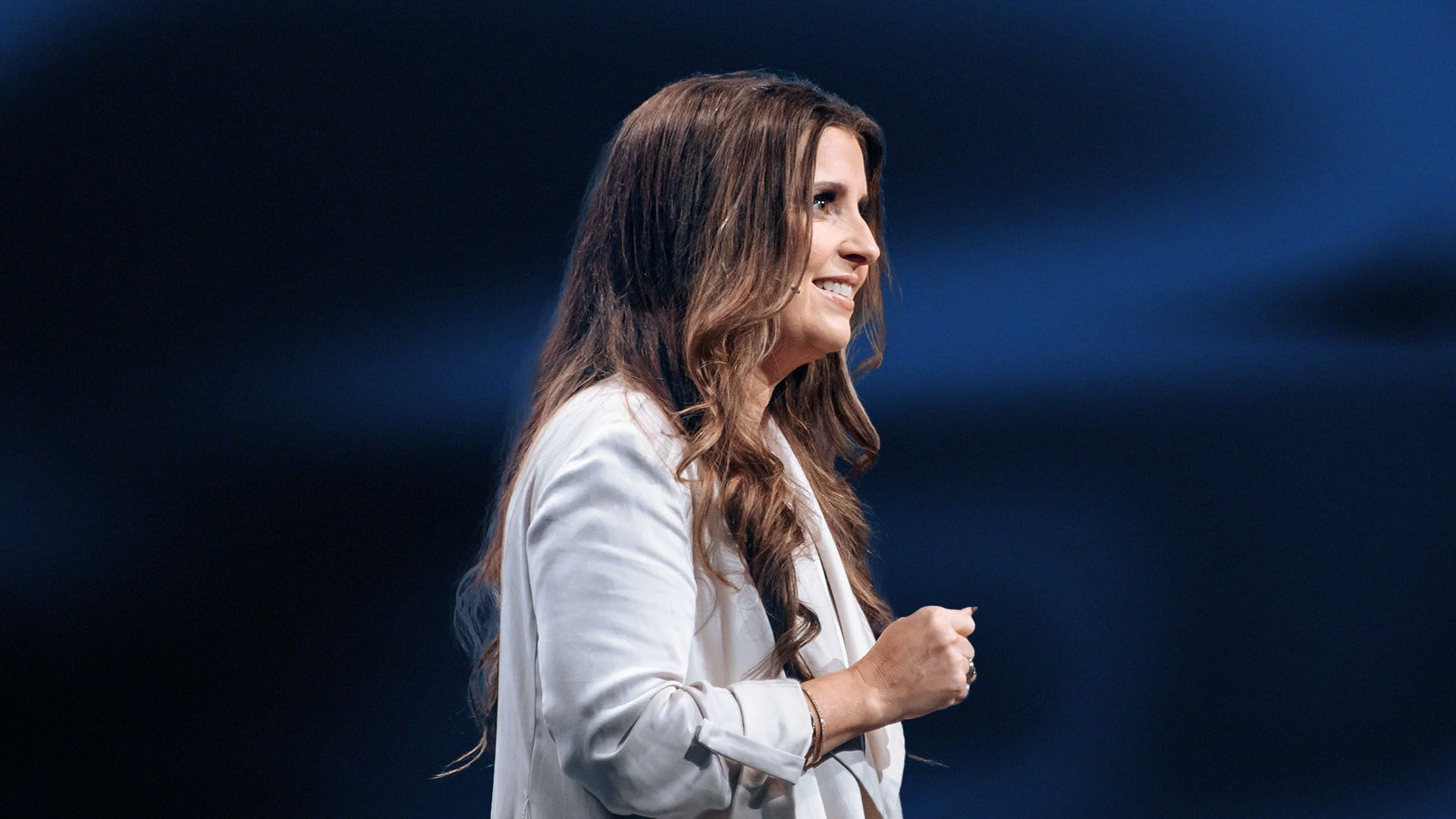 Holly Furtick preaching the sermon You Were Not Meant To Do This Alone